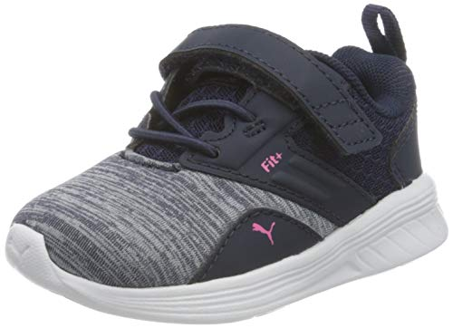 PUMA Unisex Baby Comet V Inf Sneaker, Peacoat-Glowing Pink, 26 EU