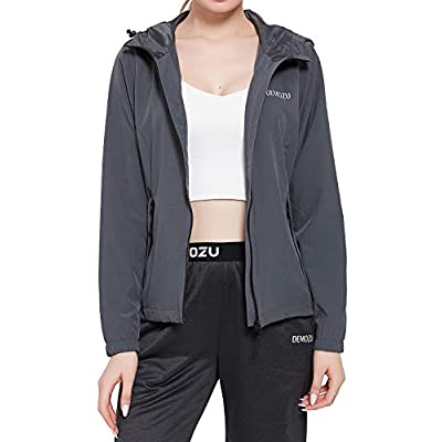Amazon - 50% Off on Women's Full Zip Hooded Jacket Athletic Workout Hiking Golf Casual