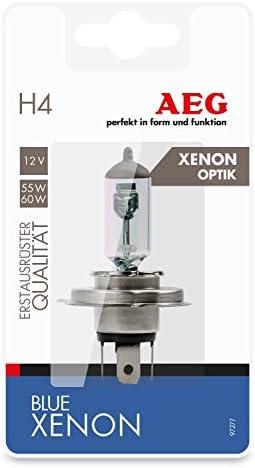 Aeg Automotive 97262 Glühlampe Longlife H4 60 55 W 2 Er Set Auto