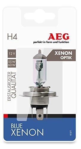 AEG Automotive 97277 Lámpara Blue Xenon H4, P43t, 60/55 W, 12 V, 1 pieza
