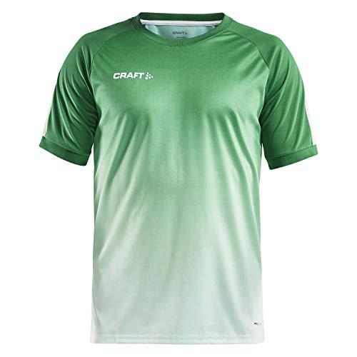 Craft Herren Trikot Pro Control Fade Jersey 1906701 Team Green/White S