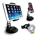 AboveTEK Suction Cup Cell Phone Holder, Large Sticky Pad Tablet...