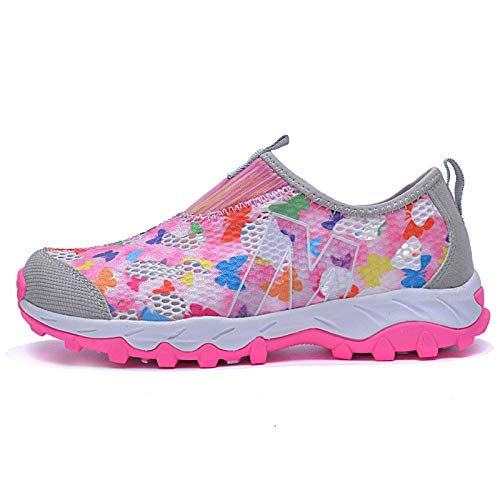 Aerlan Gym Shoes Lightweight Shoes,Botas de montaña Deportivas,Zapatillas de Malla para Correr,Zapatillas de Aguas Arriba,Zapatillas Deportivas Transpirables,Outdoor-Light Grey_44#