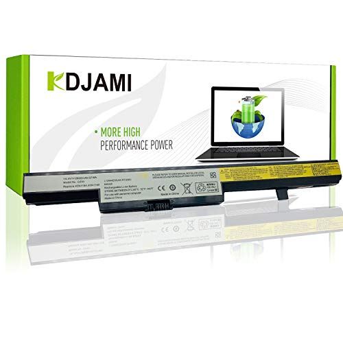 KDJAMI L13L4A01 L13M4A01 L13S4A01 Batería para Lenovo B40-30 B40-50 B40-45A B40-70 B50-30 B50-45A B50-70 B50-80 E40-30 E40-70 E40-30 E40-70 (4 Celdas/2600 mAh/14,4 V)