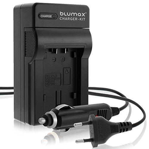 Blumax ersetzt Panasonic VW-VBT190 Ladegerät | kompatibel mit Panasonic VXF11 VX11 V808 HC VXF999 VX878 VX989 V160 V180 V270 V380 V777 W570 W580 WX979