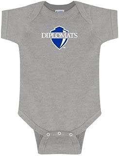 Franklin & Marshall Grey Infant Onesie 'Diplomats Official Logo'