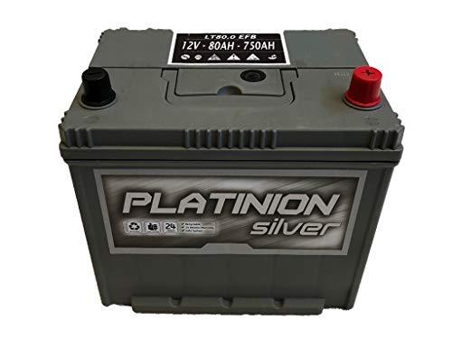 Batería de coche 80Ah | Platinion EFB START/STOP