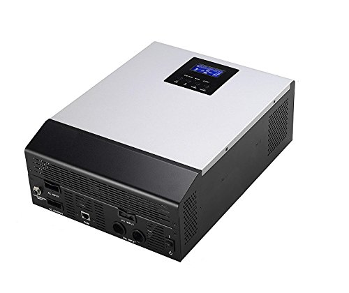 wccsolar omschakelaar as zuivere hybride 1kva 12V regelaar Solar 50A lader batterijen 20A 3en1