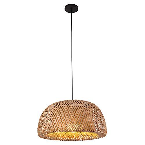 LIWENGZ Chandelier De La Rama De Bambú Japonesa, Lampshade De Bambú Sauce, Utilizado En El Restaurante Y El Balcón del Dormitorio Araña De Techo, Porta Lámpara E27, Iluminación De Decoración Creativa