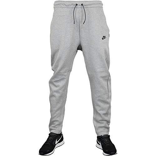 Nike Tech Fleece Sweatpants Jogginghose (XL, Grey/Black)