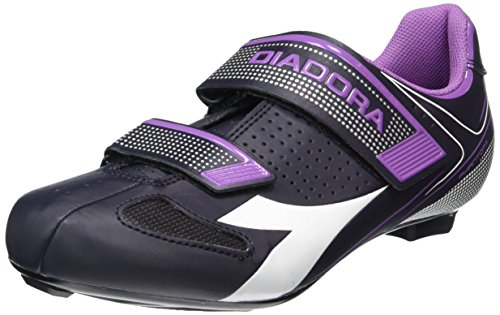 DiadoraPHANTOM II W - Zapatos de Ciclismo de Carretera Mujer, Multicolor, 42 UE