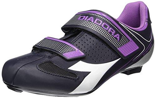 DiadoraPHANTOM II W - Zapatos de Ciclismo de Carretera Mujer, Multicolor, 39 UE