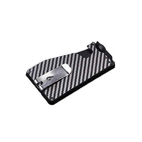 fedsjuihyg Kreditkarteninhaber Minimalist Aluminium-Karten-mappe Vordertasche Für Männer Weiß Home Nützliche