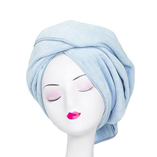 Tancano Super Absorbent Anti-Frizz Microfiber Hair Towel Hair Wrap Curly Hair Drying Towel 23.6