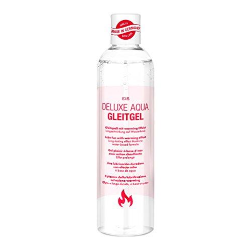 EIS, Lubricante cálido Deluxe Aqua, efecto de larga duración acuoso, 300ml