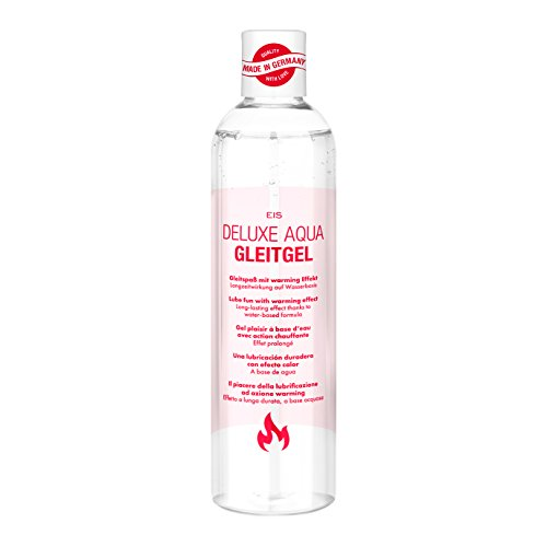 Deluxe Aqua Gleitgel von EIS, wasserbasierte Langzeitwirkung, wärmend, 300 ml