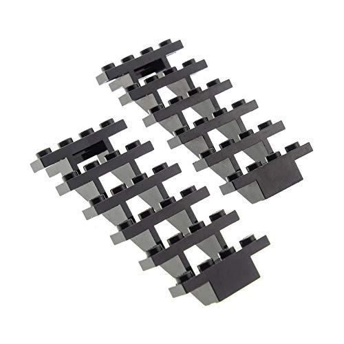 2 x Lego System Leiter schwarz 7 x 4 x 6 Treppe Stair Star Wars 3182 6761 7739 10188 79008 30134