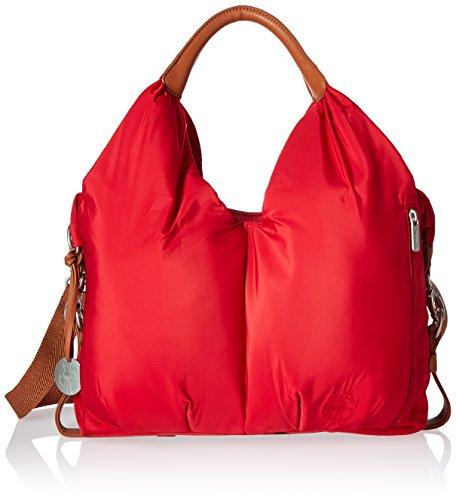 LÄSSIG Stylische Umhängetasche Schultertasche/Glam Signature Bag, red