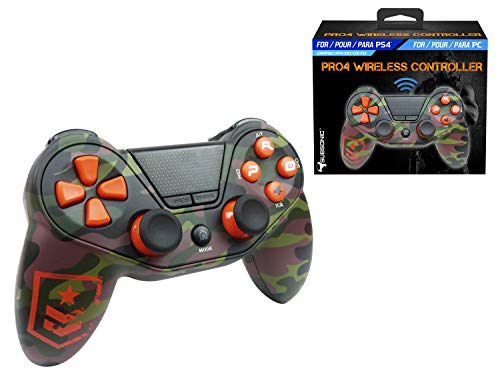 Mando inalámbrico Pro4 FPS wireless controller  - Accessorio para consola PS4 / Slim / Pro / PC / PS3 - Camo