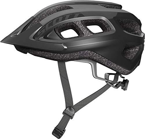SCOTT 275211, Casco Bici Unisex Adulto, Black, 1size