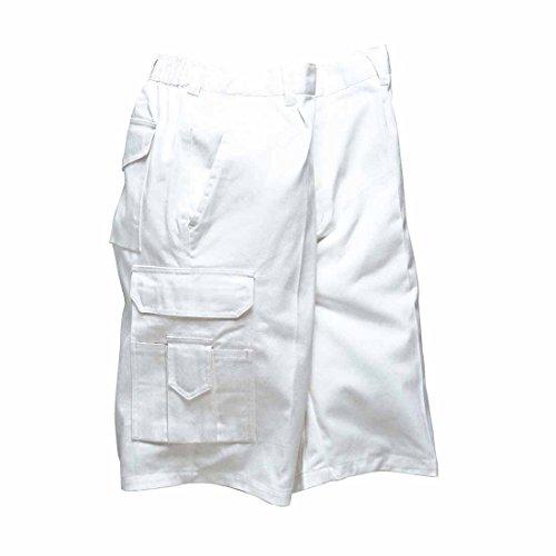 portwest/dallaswear -  Pantaloncini  - Uomo bianco M