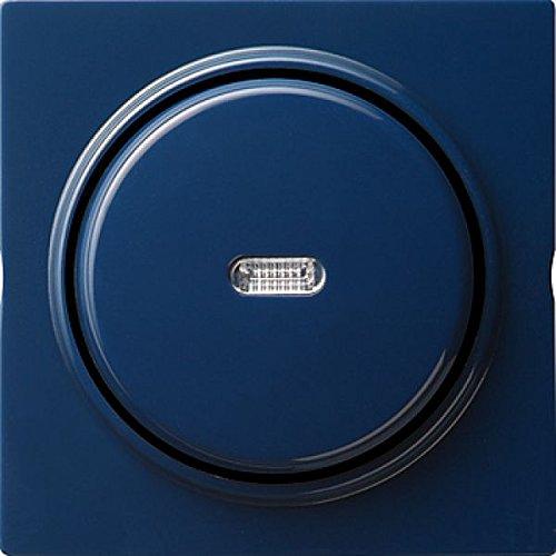 Gira 012046 knop verticaal wisselaar controle S, blauw