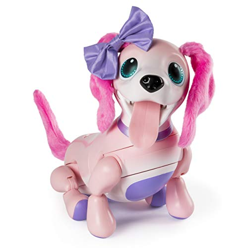 Zoomer Playful Pup Interactive Pink Robotic Dog