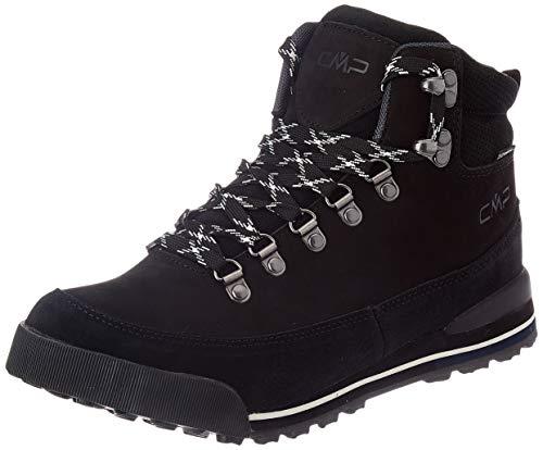 C.P.M. Heka Hiking Shoes WP, Scarpe da Passeggio per Uomo, Nero/B.Gesso, 40 EU