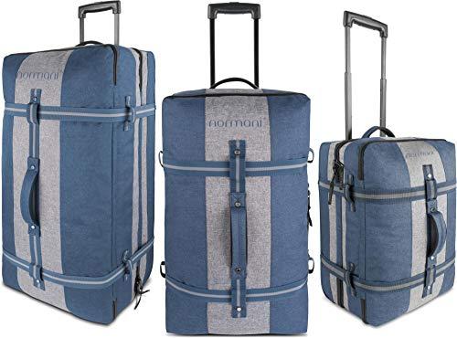 normani Reisetasche - Trolley in 3 Größen : 45, 90 und 125 Liter Volumen - Handgepäck Größe 45...