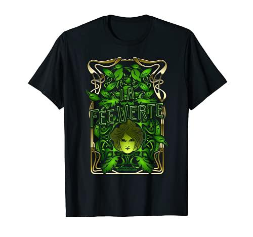 Absinthe Design La Fée Verte Absinthe T-Shirt