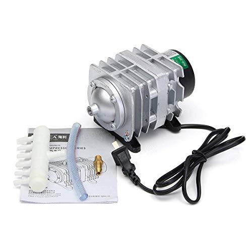 55L / min 30W Elektromagnetische Air Compressor zuurstof Aquarium Fish Tank luchtpomp