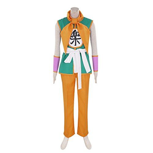 CG Costume Men's Dragon Ball Yamcha Cosplay Costume Small