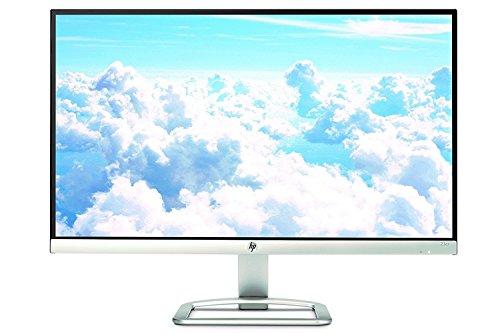 HP 23er 23-inch Full HD (1920 X 1080) IPS LED Backlit Zero Bezel Monitor with HDMI & VGA Port (T3M84AA#ABA, White) - T3M76AA#ABA