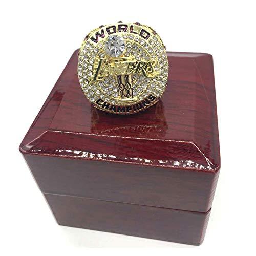 Z/A NBA para 2020 LeBron James campeonato anillo baloncesto Los Angeles Lakers tamaño 9-12 Fan souvenirs réplica movimiento anillo con caja de madera (11)