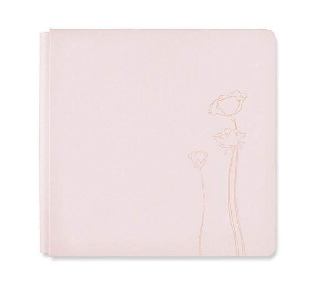 Light Blush Pink Flower 12x12 Almond Kiss Flourish Album Cover Only by Creative Memories
