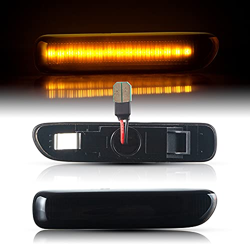 LED SEITENBLINKER passend für BMW 3er | E46 | Cabrio | Coupe | BJ 1999-2003 | SCHWARZ