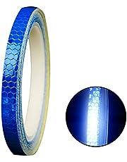 TrifyCore Cinta Reflectante Adhesiva Pegatina Seguridad Alta Intensidad Pegatina Autoadhesivo Seguridad Advertencia para Coche Camión 8m Azul