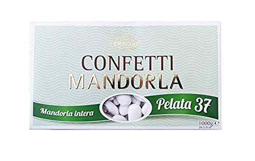 Crispo Confetti alla Mandorla, Colore Bianco - 1 kg