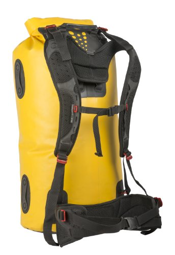 Sea to Summit Hydraulic Dry Pack, Heavy-Duty Backpack, 65 Liter, Yellow