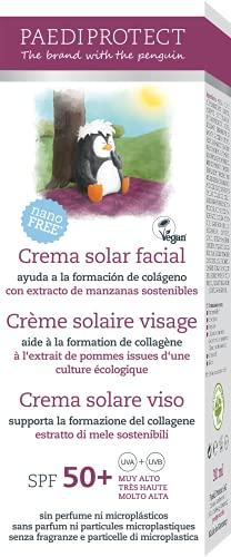 Crema solare viso, per bambini e adulti, supporta la formazione del collagene