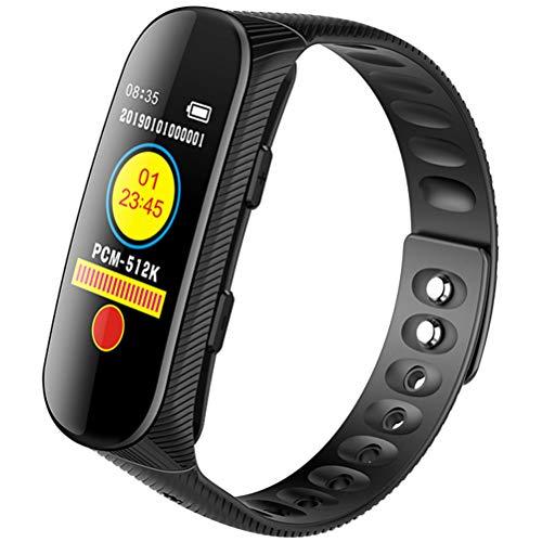 HJKPM Captura De Pantalla De La Cámara 32G Smartwatch, Reducción De Ruido HD 1080P Grabación Reloj Inteligente con Diseño De Desmontaje Independiente para Abogados Forenses De Cumplimiento