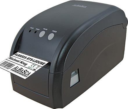 Thermodrucker Etikettendrucker ALBASCA® RTS-L80USE | USB & Ethernet/Netzwerk | 80mm Druckbreite | Endlos Bondruck möglich
