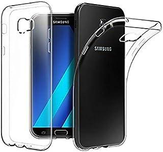 Samsung Galaxy A5 2017 (SM-A520F) TPU Silicone Clear Case Back Cover By Muzz
