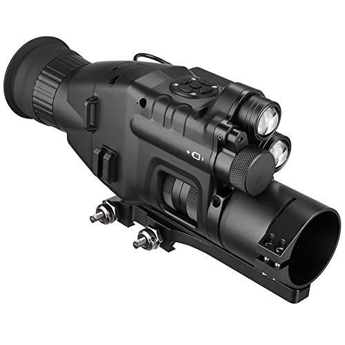 MUJING Monocular de visión Nocturna 1X-24X con aplicación WiFi, Alcance de 200 M, Alcance NV, Visor de Infrarrojos, telescopio de cámara,No Reticle~48mm