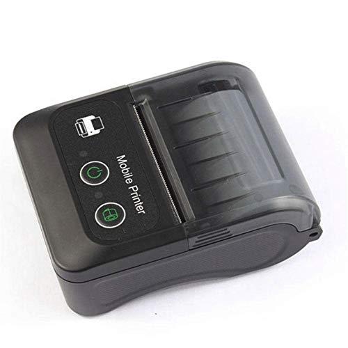QCHEA 2 Inchs Bluetooth Impresora de Recibos, de 58 mm portátil Mini Impresora térmica móvil con la batería Recargable, Compatible con Android iOS Windows for la pequeña Empresa