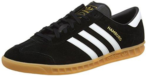 adidas Hamburg, Zapatillas Hombre, Varios colores (Core Black/Ftwr White/Gum), 36