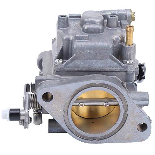 Leftwei Carburador de 2 Tiempos Fuera de borda, carburador de 2 Tiempos 40HP, Motor Fuera de borda de Barco, Accesorio de carburador de aleación de Aluminio