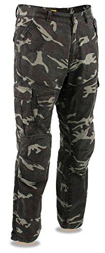 Milwaukee Performance Herren Cargo-Jeans Camo verstärkt mit Aramid 50 Camouflage