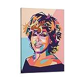 Tina Turner Poster, dekoratives Gemälde, Leinwand,