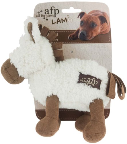 ALL FOR PAWS Cuddle Animals mit Lammfell - Hundespielzeug - Pferd